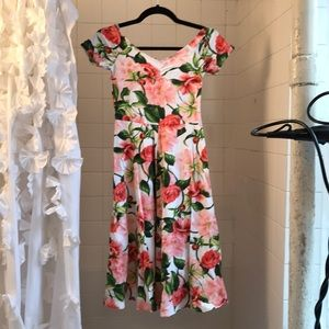 Floral dress from American Apparel